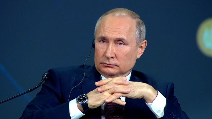 Владимир Путин ответил на критику Олега Дерипаски