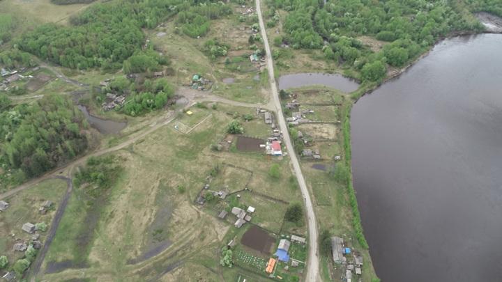 В Амурской области подтопило два участка дороги и мост