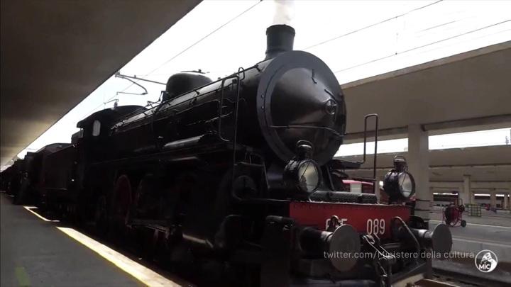 Поезд по маршруту, связанному с жизнью Данте Алигьери, начал курсировать в Италии
