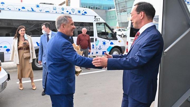 В Казань прибыл глава Якутии