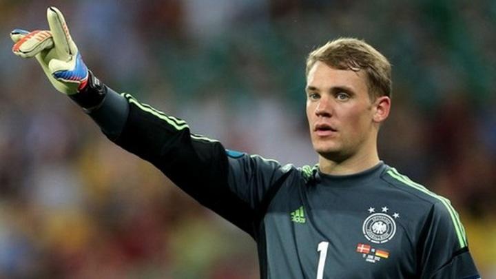 Нойер стал первым вратарем сборной Германии, сыгравшим 100 матчей
