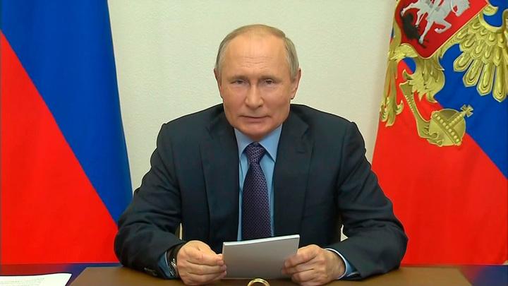 Путин дал старт работе Амурского газоперерабатывающего завода
