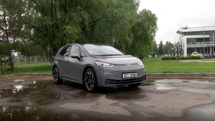 Машина, на которой редко тормозишь: тест-драйв Volkswagen ID.3