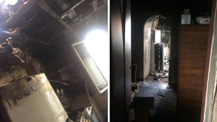 Все сгорело: в Воронежской области молния попала в квартиру молодой семьи