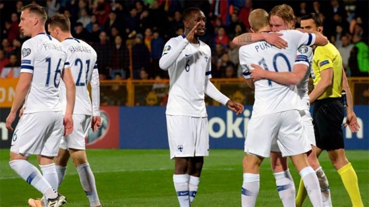 Финляндия назвала состав на матч против России