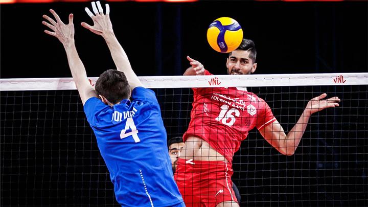 Волейболисты России уступили соперникам из Словении