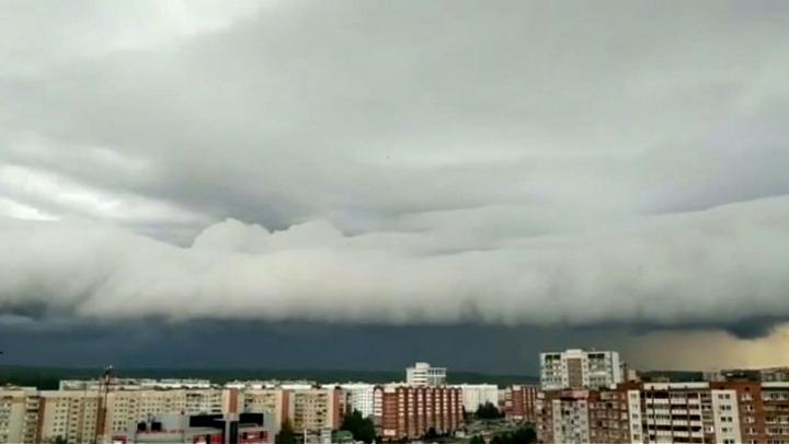 Тропические облака накрыли центр России