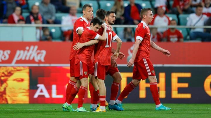 Стал известен состав России на матч против Бельгии