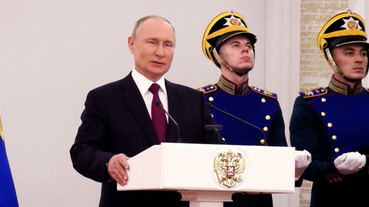 Владимир Путин вручил госпремии лауреатам 2020 года