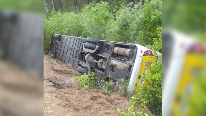 Названа предварительная причина ДТП с автобусом в Ленобласти