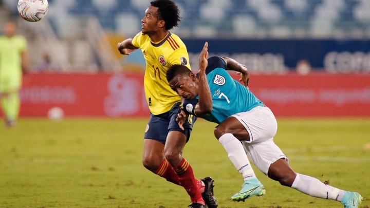 Колумбия обыграла Эквадор в Кубке Америки
