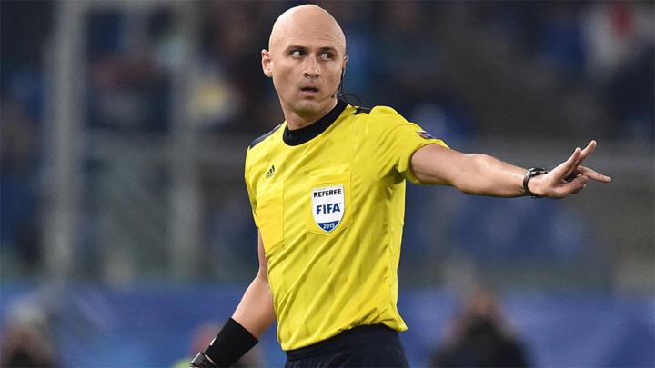Сергей Карасев будет судить матч Италия – Швейцария