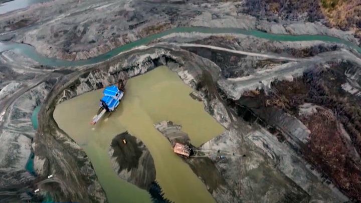 На Колыме находятся самые крупные месторождения золота