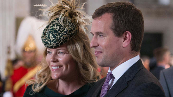Питер Филлипс и жена Отэм (фото: AP)
