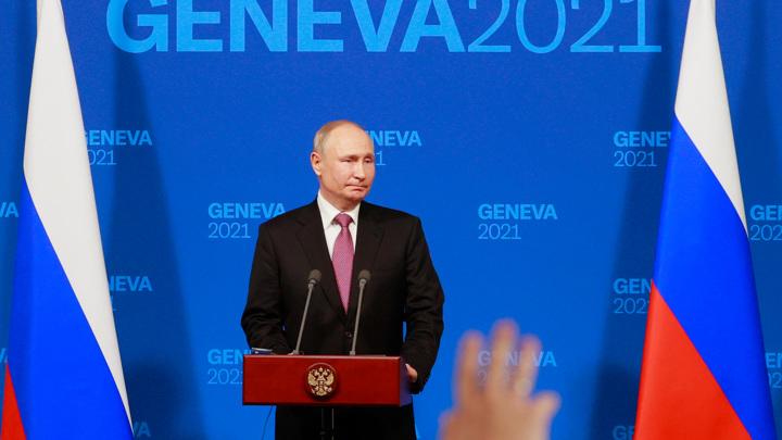 Путин: тема Украины затрагивалась на встрече с Байденом