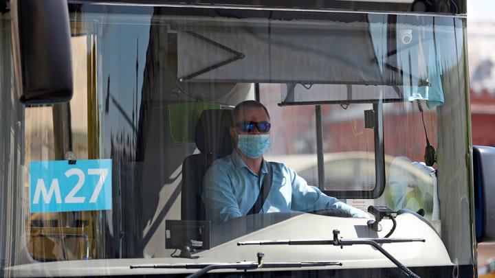 Непривитых водителей автобусов и такси в Подмосковье не допустят к работе