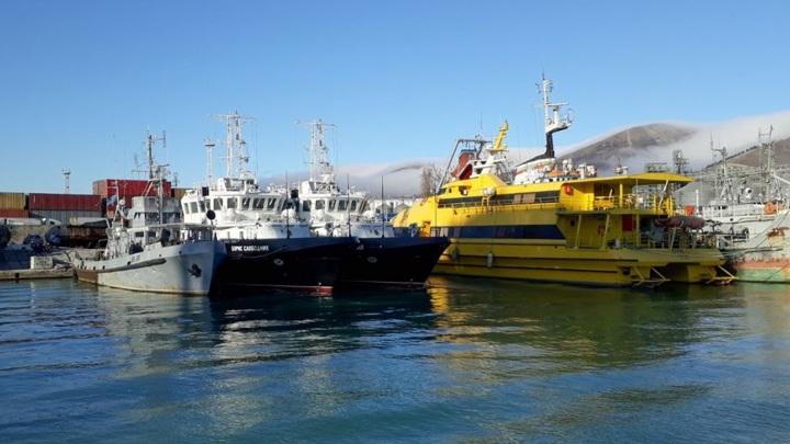 Новейшее гидрографическое судно принято в состав Черноморского флота