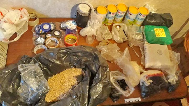 Крупный распределительный наркоцентр накрыли в Туле