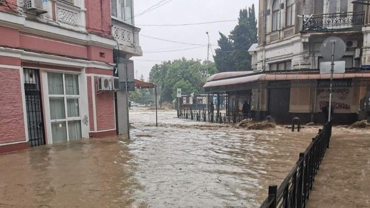 В Ялте полностью затоплен крокодиляриум