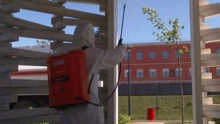 """""""Убойная химия"""": тульские спасатели борются с COVID-19 при помощи гипохлорита натрия"""