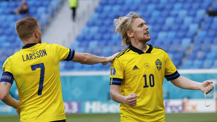 Сборная Швеции со счётом 3:2 обыграла команду Польши на Евро-2020