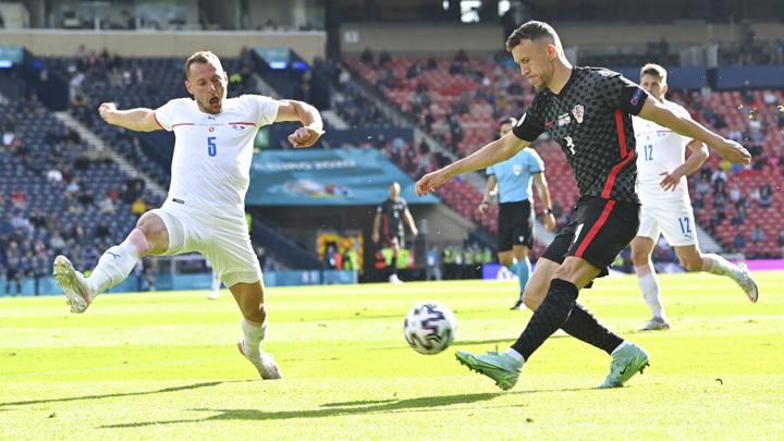 Сборные Хорватии и Чехии сыграли вничью в матче чемпионата Европы
