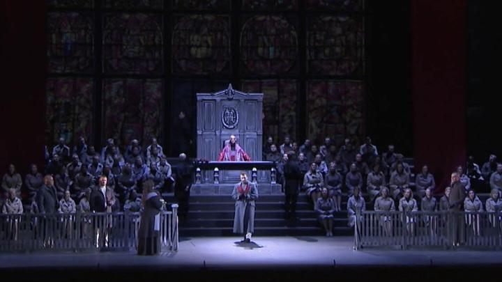 """Нафестивале """"Звезды белых ночей"""" представили оперу Вагнера """"Тангейзер"""""""