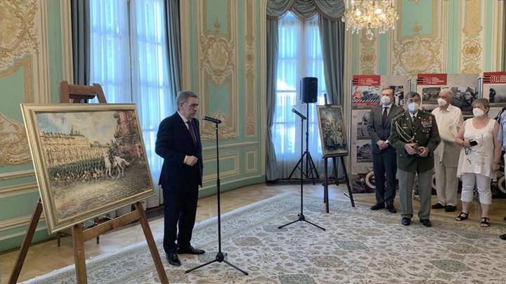 В посольстве РФ в Чехии почтили память павших в Великой Отечественной войне