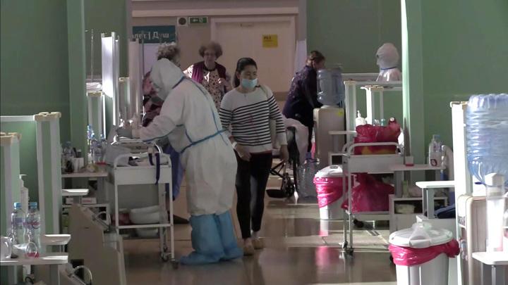 Москва: недельный максимум заболевших и суточный – умерших