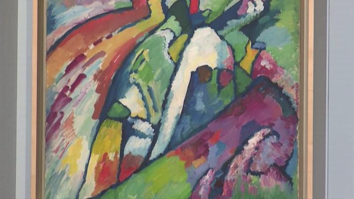 Картину Василия Кандинского представили на выставке в Калининграде