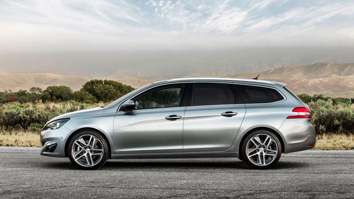 Peugeot представила универсал 308 SW нового поколения