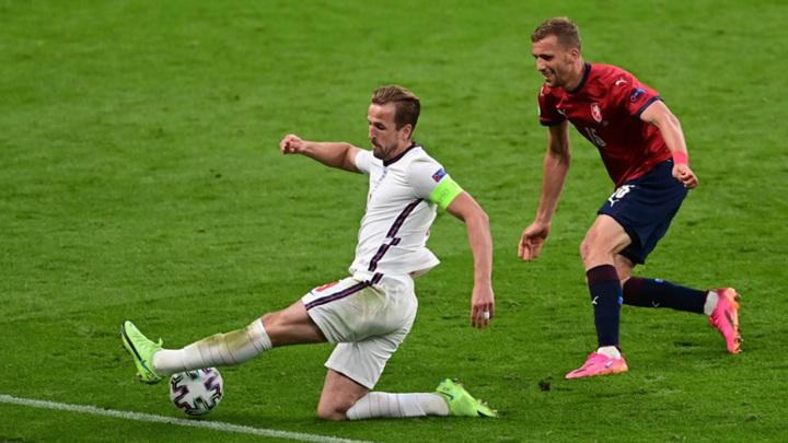 Футболисты Англии минимально обыграли команду Чехии