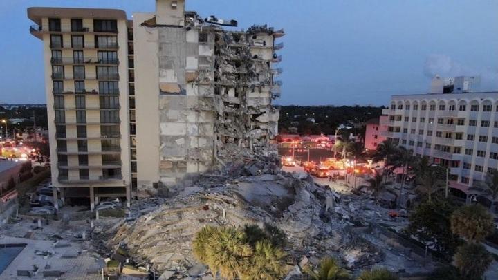 Число погибших при обрушении жилого дома во Флориде выросло до трех