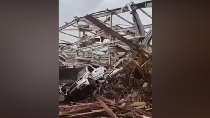 В Чехии торнадо разрушил четыре села