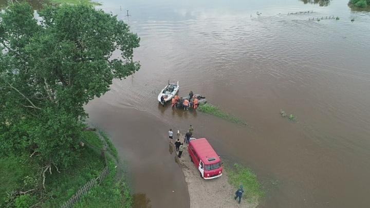 В Приамурье растет число подтопленных домов, жители эвакуированы