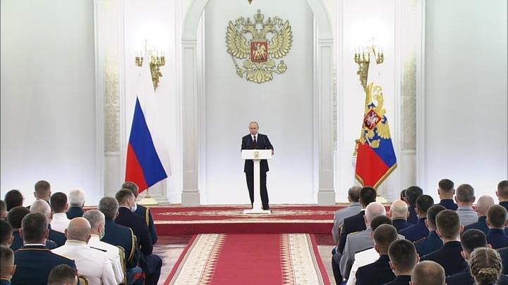 Путин анонсировал поставку на боевое дежурство уникальных систем вооружений