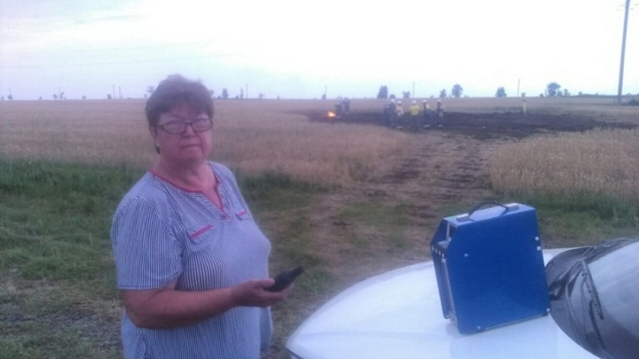 В районе села Хилково Самарской области прорвало газопровод