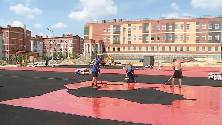 В Волгограде построили новую современную школу