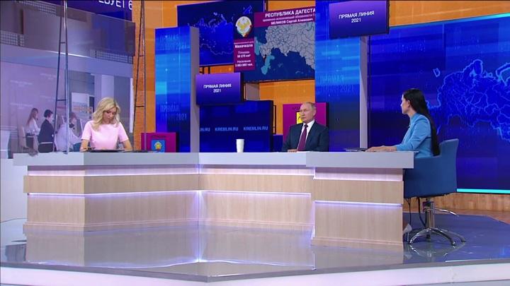 Россияне задали более миллиона вопросов для прямой линии с Путиным