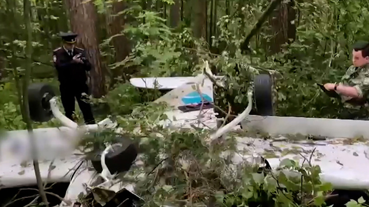 Следователи назвали приоритетную версию падения самолета в Подмосковье