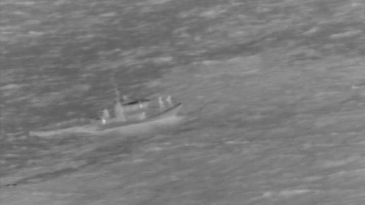 Спасение летчиков разбившегося Boeing попало на видео
