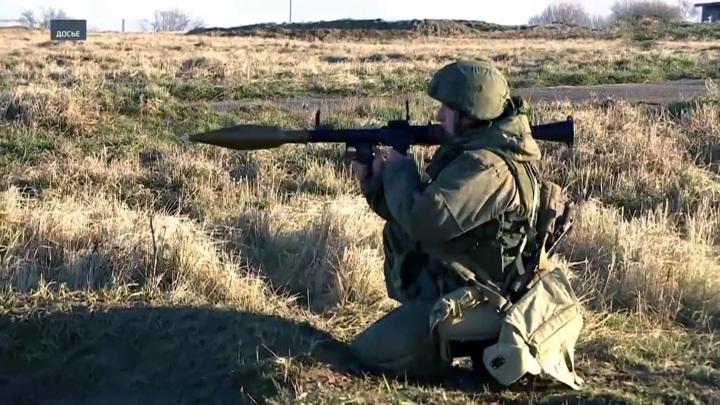 Сборы гранатометчиков прошли на Балтфлоте