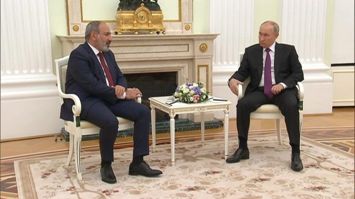 Путин рассказал Пашиняну, что показали выборы в Армении