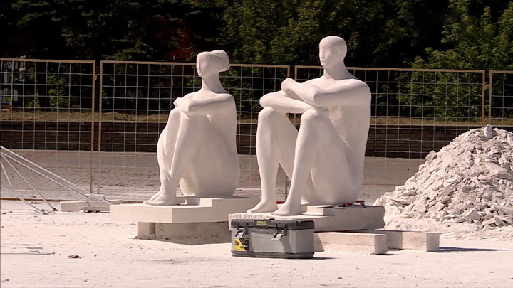 """Завершается международный скульптурный симпозиум """"Вдохновение"""" в Нижнем Новгороде"""