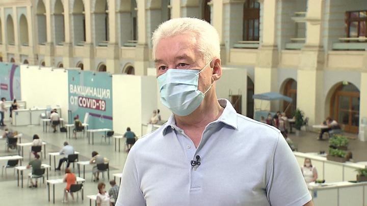 Собянин рассказал о пройденном пике заболеваемости коронавирусом в столице
