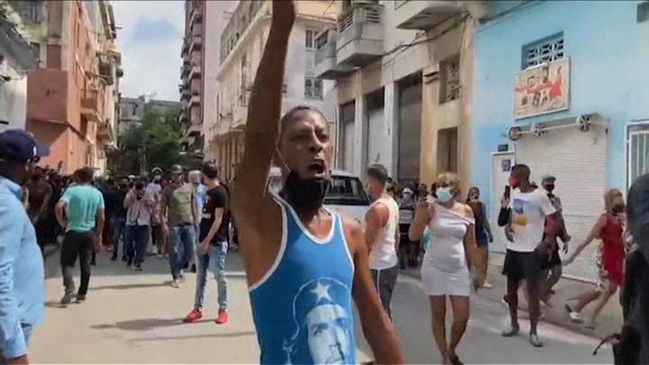 Протесты на Кубе не стихают