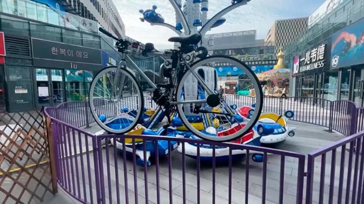 Инженер из Huawei разработал беспилотный велосипед