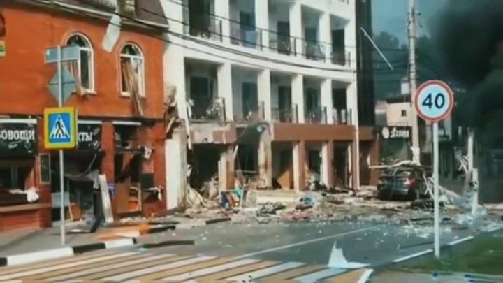 Из гостиницы в Геленджике после взрыва бытового газа эвакуированы 50 человек
