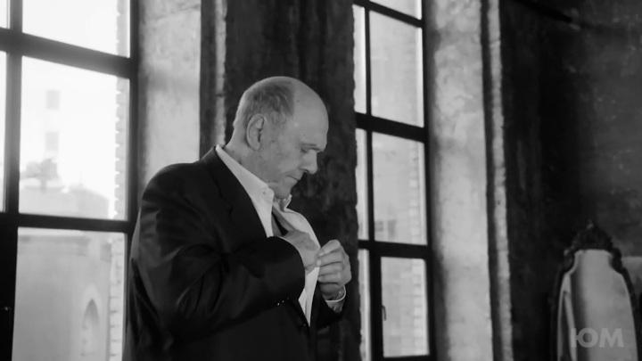 """Кадр из фильма """"Папа. Последнее интервью В.В. Меньшова"""""""