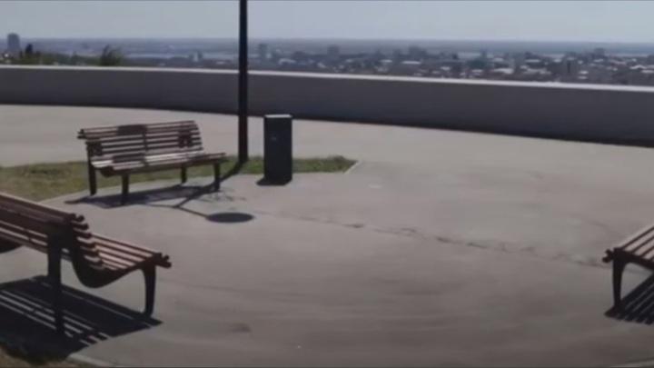 Володин предложил варианты развития смотровой площадки у старого аэропорта